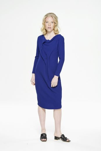 Hiilinen Blue viscose/wool